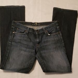 7 For All Man Kind Jean's Sz 31 Bootcut